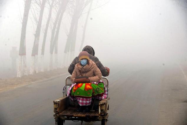 Ô nhiễm không khí ở Trung Quốc vượt quy chuẩn của WHO 100 lần - ảnh 9