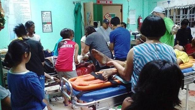 Nổ lớn ở trận đấu quyền anh của Philippines, ít nhất 10 người chết - ảnh 1