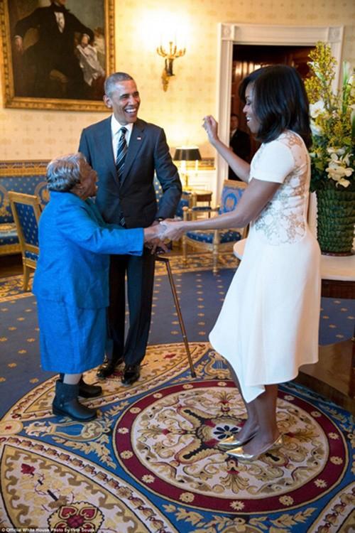 Những khoảnh khắc đáng nhớ cuối cùng của Obama ở Nhà Trắng - ảnh 4