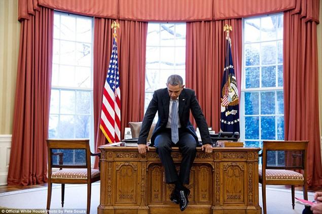 Những khoảnh khắc đáng nhớ cuối cùng của Obama ở Nhà Trắng - ảnh 6