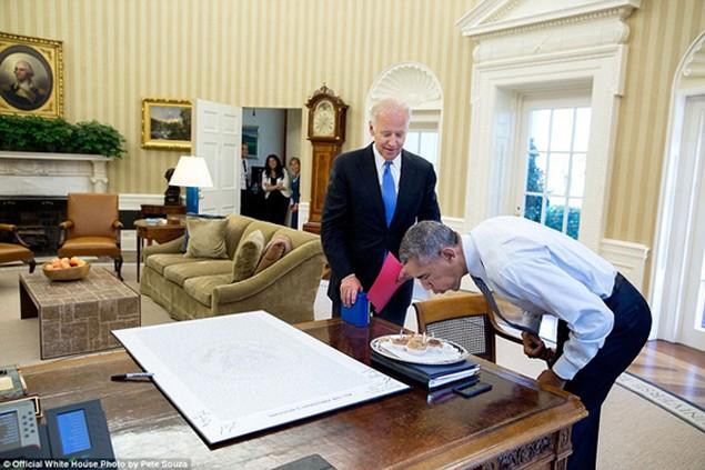 Những khoảnh khắc đáng nhớ cuối cùng của Obama ở Nhà Trắng - ảnh 18