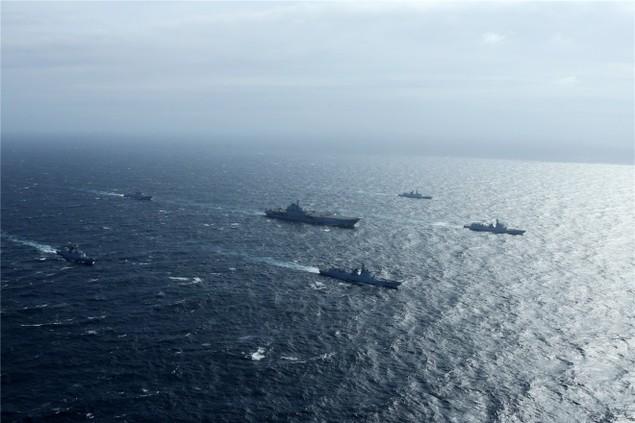 Trung Quốc công bố hình ảnh tàu sân bay diễn tập ở Biển Đông - ảnh 3
