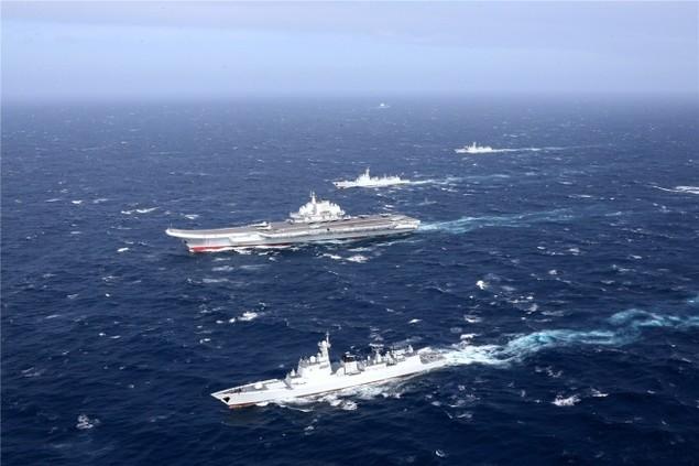 Trung Quốc công bố hình ảnh tàu sân bay diễn tập ở Biển Đông - ảnh 4