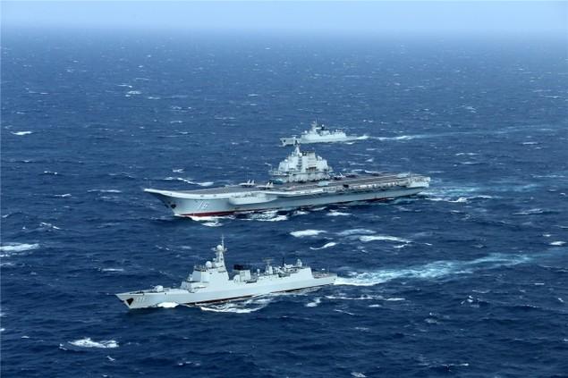 Trung Quốc công bố hình ảnh tàu sân bay diễn tập ở Biển Đông - ảnh 5