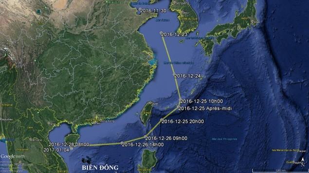 Trung Quốc công bố hình ảnh tàu sân bay diễn tập ở Biển Đông - ảnh 7
