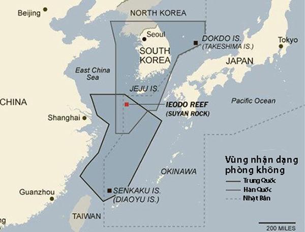 Hàn Quốc điều chiến đấu cơ đối phó 10 phi cơ quân sự Trung Quốc - ảnh 1