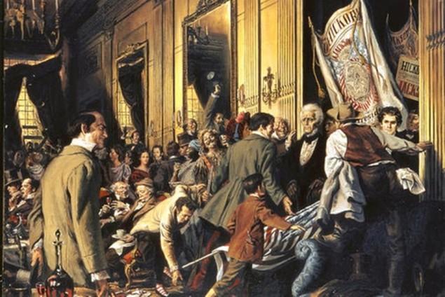 Bàn tiệc lễ nhậm chức qua các đời tổng thống Mỹ - ảnh 1