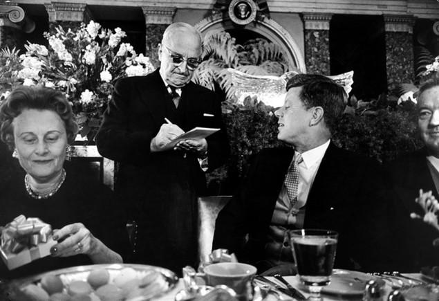 Bàn tiệc lễ nhậm chức qua các đời tổng thống Mỹ - ảnh 5