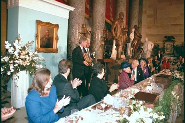 Bàn tiệc lễ nhậm chức qua các đời tổng thống Mỹ - ảnh 9