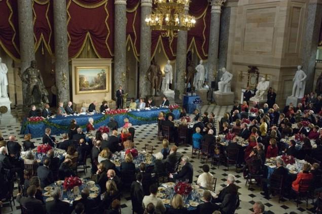 Bàn tiệc lễ nhậm chức qua các đời tổng thống Mỹ - ảnh 11