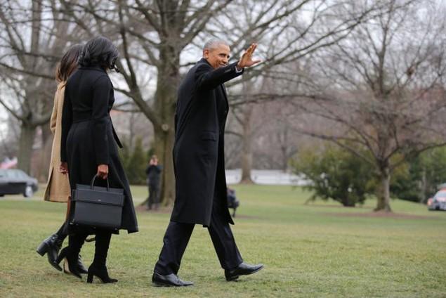 Tổng thống Obama phát biểu từ biệt trước khi rời Nhà Trắng - ảnh 1