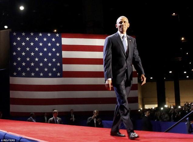 Những hình ảnh khó quên tại buổi lễ chia tay của Tổng thống Obama - ảnh 1
