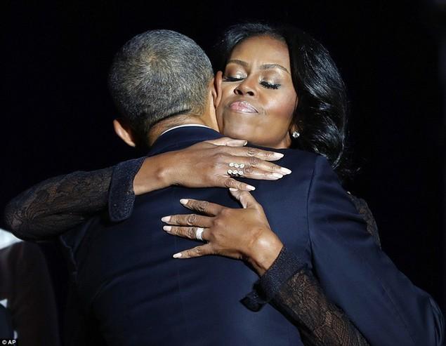 Những hình ảnh khó quên tại buổi lễ chia tay của Tổng thống Obama - ảnh 7