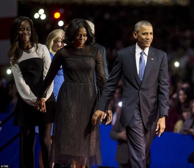 Những hình ảnh khó quên tại buổi lễ chia tay của Tổng thống Obama - ảnh 10