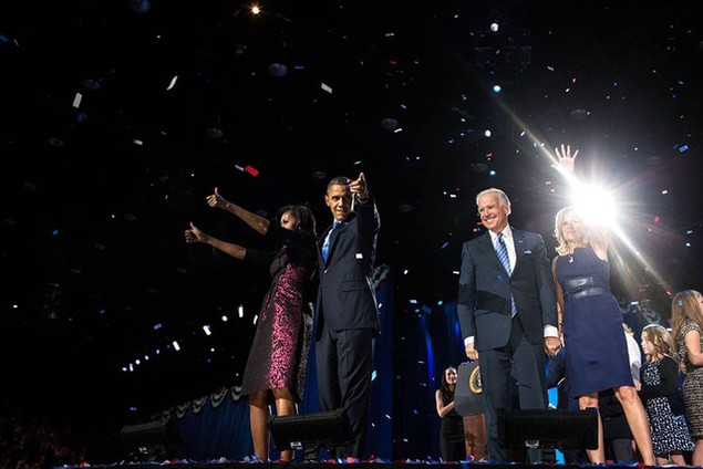 Những hình ảnh khó quên tại buổi lễ chia tay của Tổng thống Obama - ảnh 11