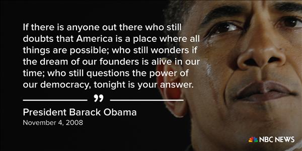 Những phát ngôn ấn tượng của Tổng thống Obama - ảnh 1