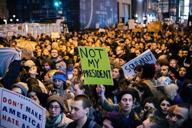 Mỹ chuẩn bị cho lễ nhậm chức của ông Trump giữa lo ngại bùng nổ biểu tình - ảnh 1