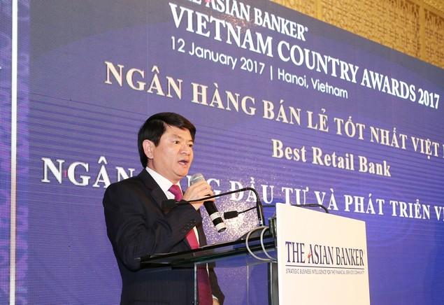 BIDV trở thành Ngân hàng bán lẻ tốt nhất Việt Nam 3 năm liên tiếp - ảnh 1
