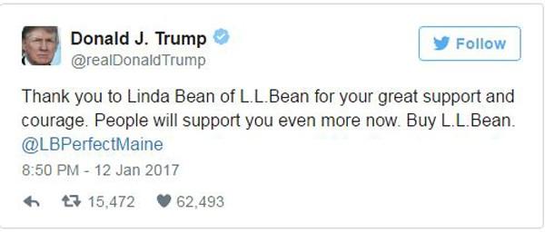 Ra mặt quảng bá cho doanh nghiệp, Trump khơi tranh cãi gay gắt - ảnh 1