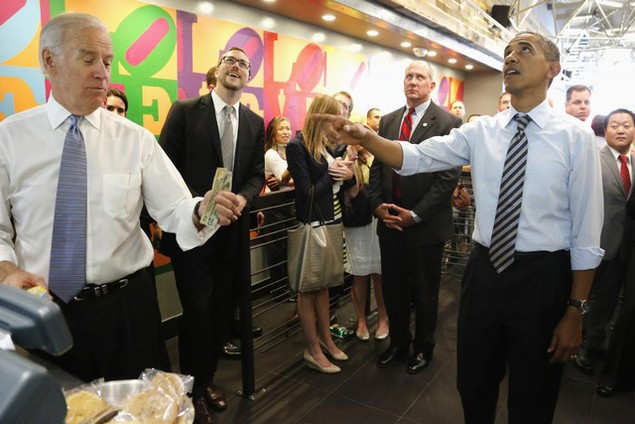 Những khoảnh khắc đáng nhớ của Phó Tổng thống Mỹ Biden - ảnh 5