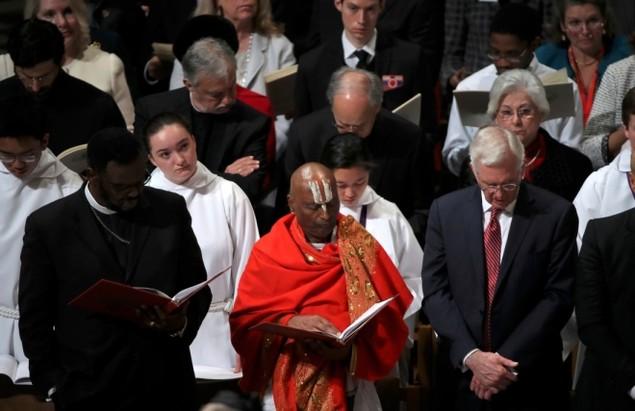 Tổng thống Trump dự lễ cầu nguyện tại nhà thờ - ảnh 7