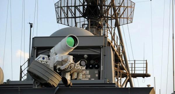 Mỹ có thể biên chế pháo laser trên tàu chiến trước 2019 - ảnh 1