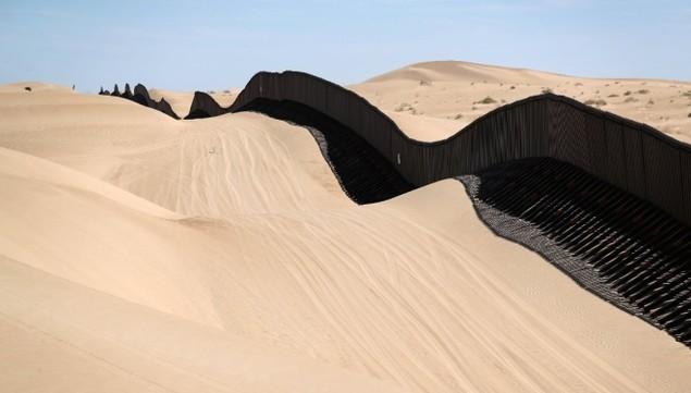 Biên giới Mỹ - Mexico trước khi Trump quyết định dựng tường chắn - ảnh 3