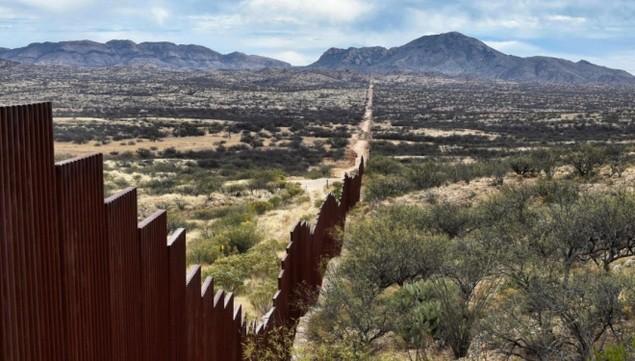Biên giới Mỹ - Mexico trước khi Trump quyết định dựng tường chắn - ảnh 11