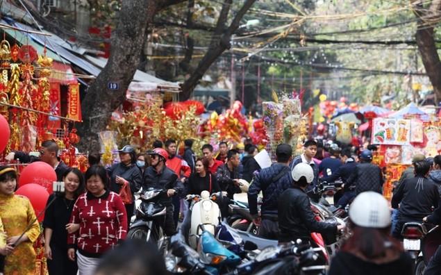 Hà Nội ngày 30 Tết - ảnh 4