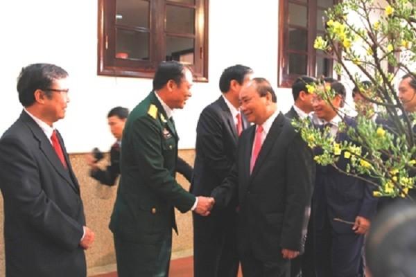 Thủ tướng thăm, chúc Tết Đảng bộ, chính quyền và nhân dân Đà Nẵng - ảnh 2