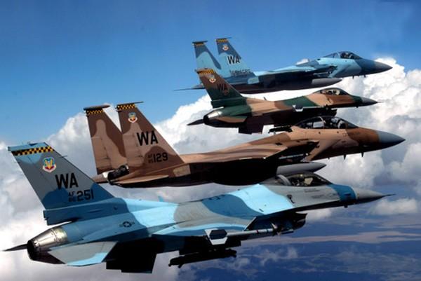 Tiêm kích tàng hình F-35 hạ 15 máy bay trong 8 ngày tập trận - ảnh 1