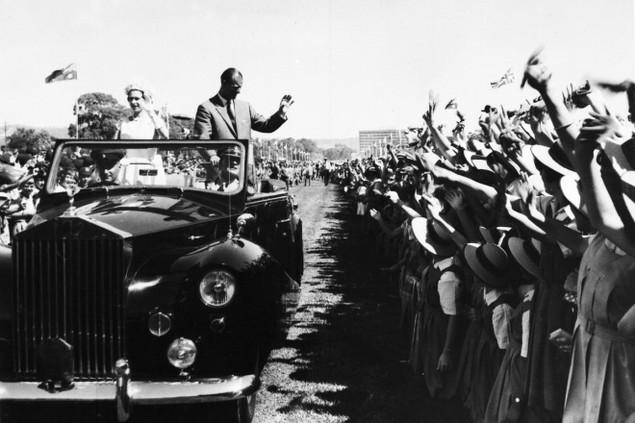 Những khoảnh khắc ấn tượng trong 65 năm trị vì của Nữ hoàng Anh - ảnh 7