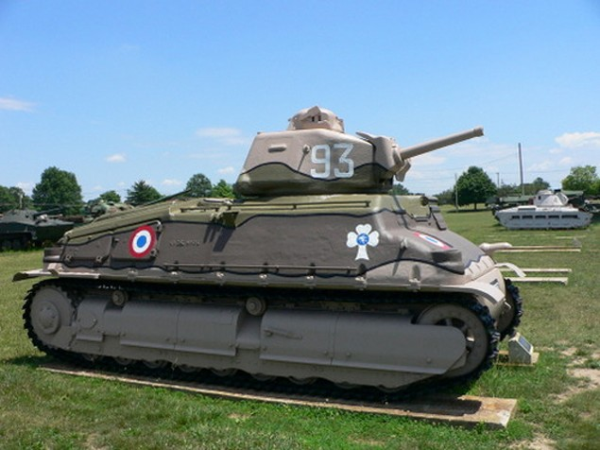 Chiếc xe tăng uy lực không cứu nổi nước Pháp trong Thế chiến II - ảnh 2