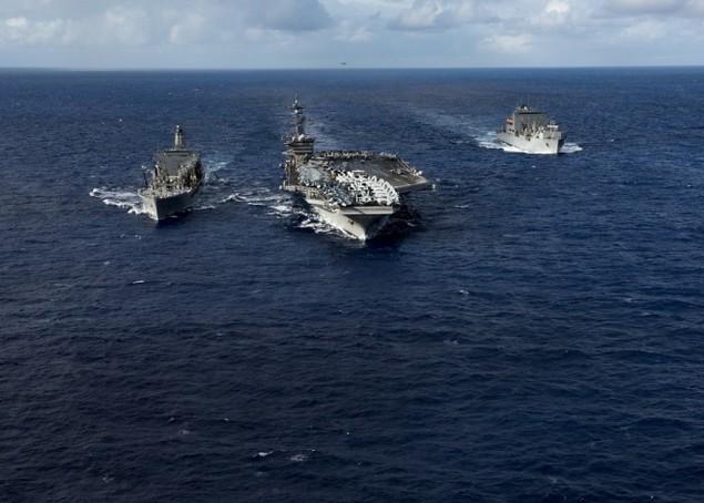 Sức mạnh cụm tàu sân bay chiến đấu Mỹ đang tuần tra Biển Đông - ảnh 2