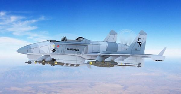 Lộ diện mẫu máy bay có thể thay thế cường kích A-10 - ảnh 1