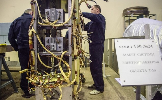 Bên trong trung tâm thử nghiệm tiêm kích tàng hình T-50 Nga - ảnh 8