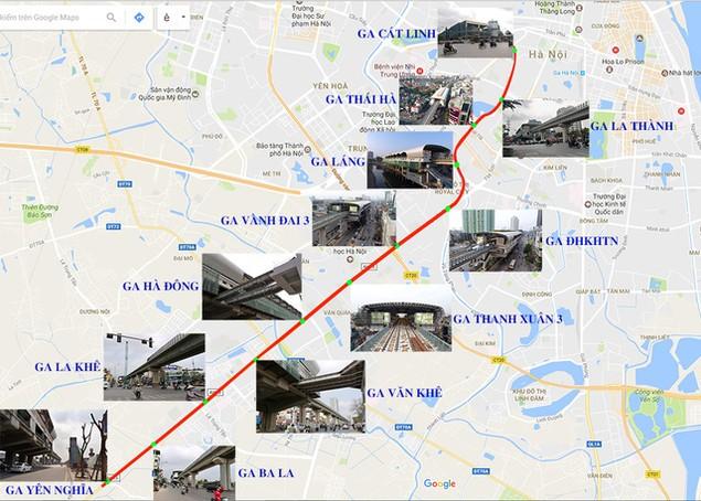 Trải nhiệm Hà Nội từ trên cao qua đường sắt đô thị Cát Linh - Hà Đông - ảnh 1