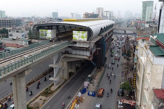 Trải nhiệm Hà Nội từ trên cao qua đường sắt đô thị Cát Linh - Hà Đông - ảnh 9