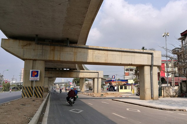 Trải nhiệm Hà Nội từ trên cao qua đường sắt đô thị Cát Linh - Hà Đông - ảnh 16