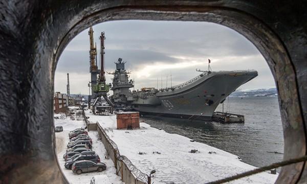Tàu sân bay Nga ngốn hơn một tỷ USD bảo dưỡng - ảnh 1