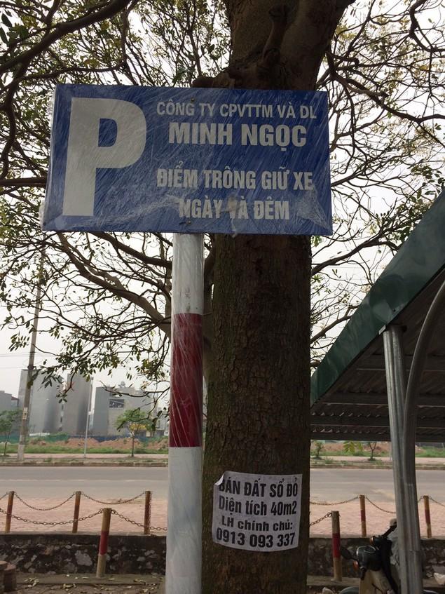 Long Biên, Hà Nội: Xây dựng bãi đỗ xe dù đã hủy mời thầu - ảnh 1
