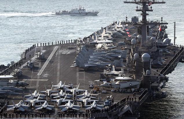 Những tàu sân bay mạnh nhất của hải quân các nước - ảnh 1
