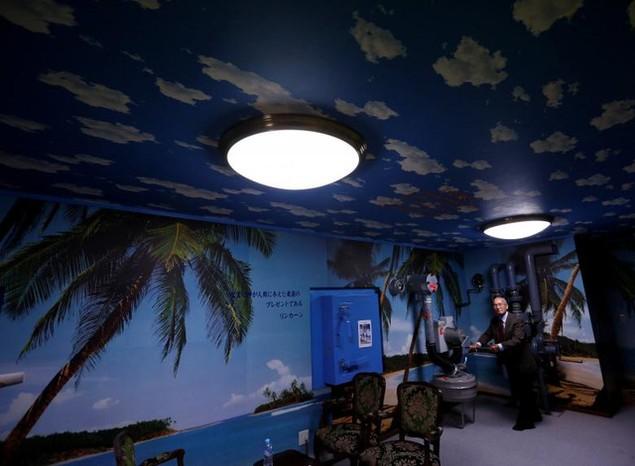 Bên trong hầm tránh bom hạt nhân ở Nhật Bản - ảnh 12
