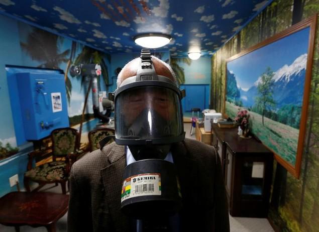 Bên trong hầm tránh bom hạt nhân ở Nhật Bản - ảnh 13