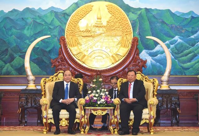 Thủ tướng Nguyễn Xuân Phúc kết thúc chuyến thăm chính thức CHDCND Lào - ảnh 1