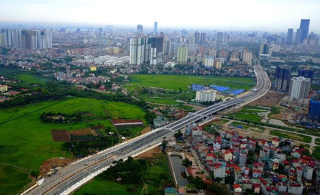 Thông xe tuyến đường 1.500 tỷ gần sân Mỹ Đình - ảnh 1