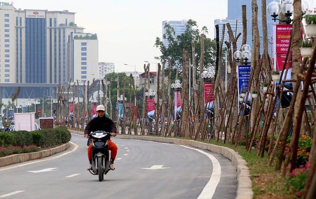 Thông xe tuyến đường 1.500 tỷ gần sân Mỹ Đình - ảnh 4