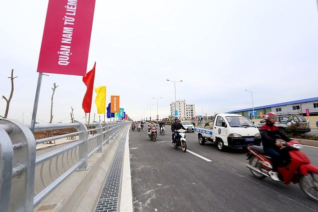 Thông xe tuyến đường 1.500 tỷ gần sân Mỹ Đình - ảnh 10