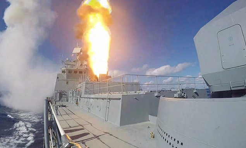 Tên lửa Nga sắp phô diễn uy lực ngoài khơi Libya - ảnh 1
