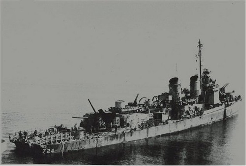 Tàu chiến Mỹ trụ vững trước đòn tự sát của 6 máy bay Nhật - ảnh 1